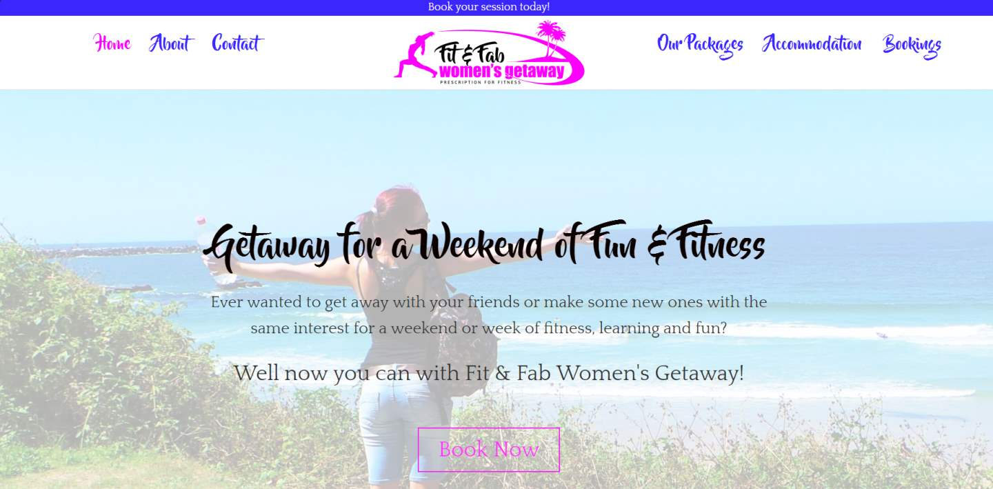 Fit & Fab Women's Getaway - Sunshine Coast Qld