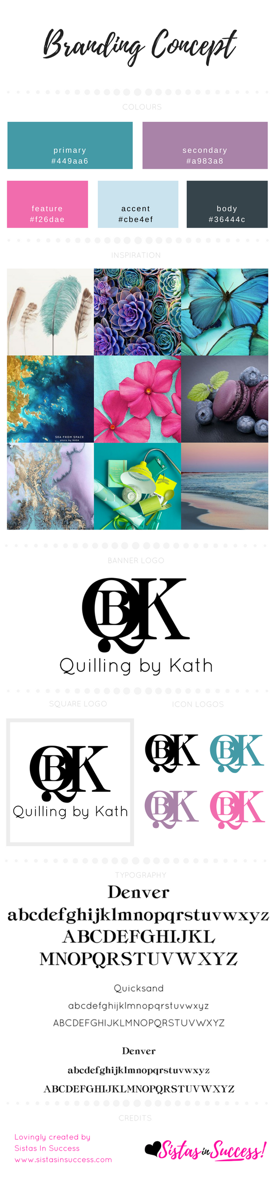 Quilling By Kath Branding Concept V2